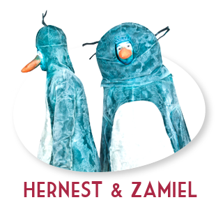 de pinguins Hernest & Zamiel
